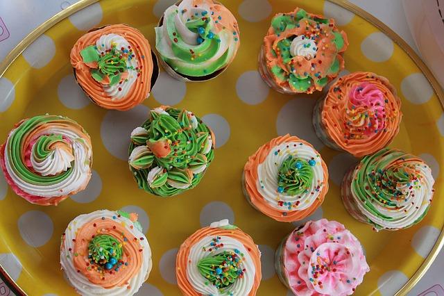 koláčky, muffinky, sladké