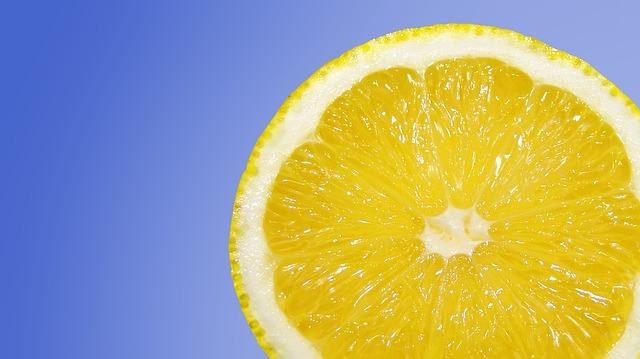 řez citronu