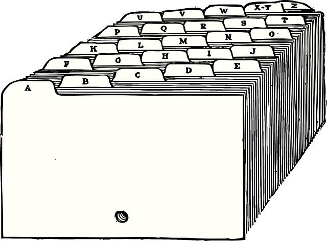 kartotéka