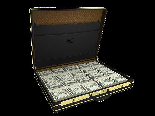 kufr na peníze