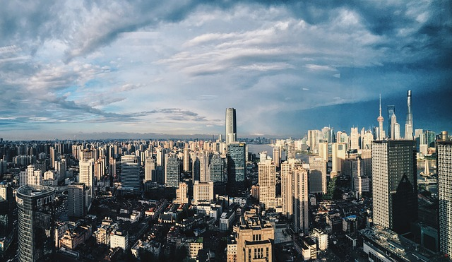 město šanghaj