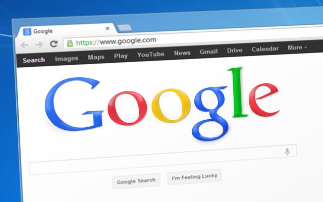 hledání na google